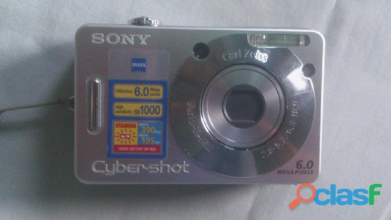 Camara Sony Cyber Shot de 6.0 Mp