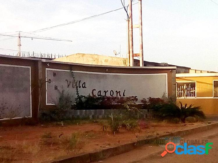 Terreno en venta en villa caroni