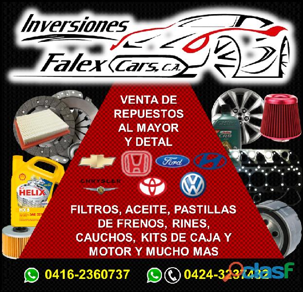 Inversiones Falex Cars C.A.