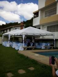 Agencia festejos toldo 5x5 tripode piñatas colchon 6x3 3x3