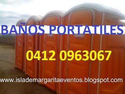 Alquiler baños portátil plantas eléctricas apoyo