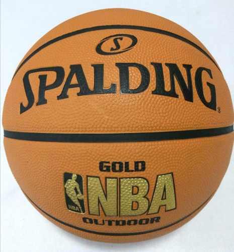 Usado, BALON PELOTA BASKET SPALDING NBA GOLD N°7 GOMA SY CO 20 segunda mano  San Antonio del Táchira (Táchira)