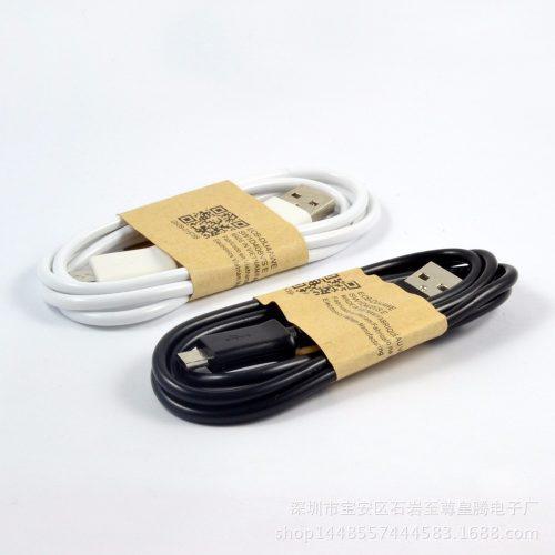 Cable usb cargador samsung micro usb carga + datos certifica