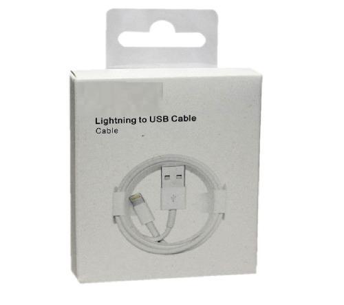 Cable usb iphone 5 5c 5s 6 6s 7 certificado 100% caja xtc