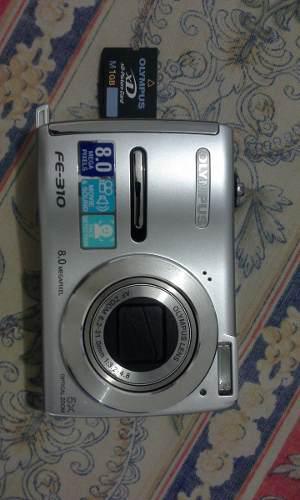 Camara olimpus fe-310 8,0 megapixeles incluye memoria