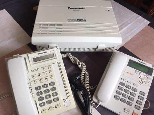 Central telefonica hibrida panasonic tes824