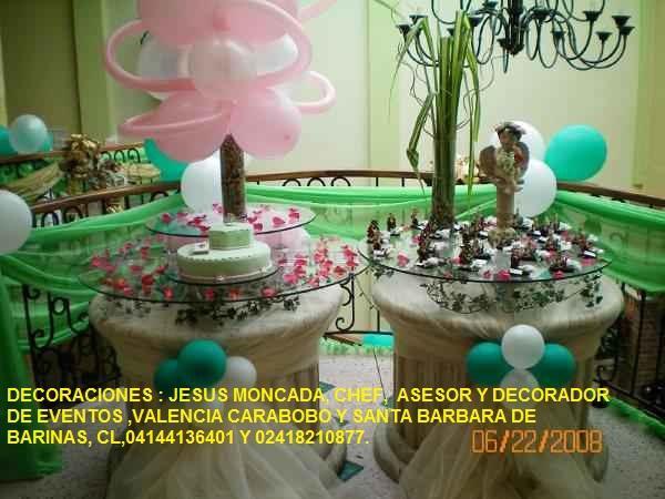 Decoraciones jesus moncada,santa barbara de barinas y
