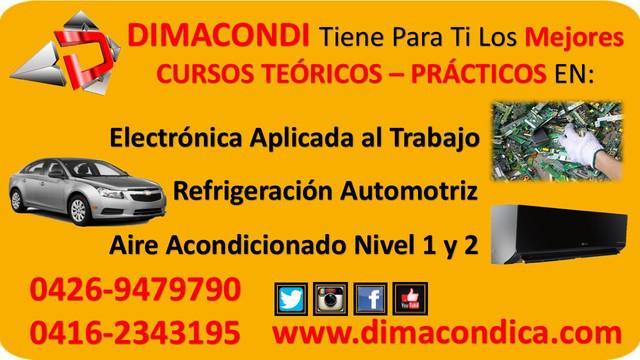 Electrónica aplicada al trabajo, cursos de capacitación.