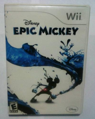 Epic mickey juego wii