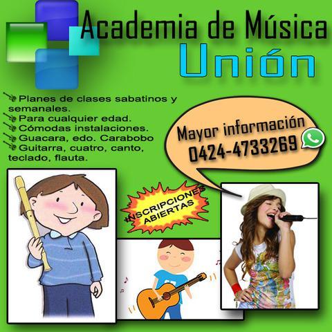 Escuela de música en guacara.