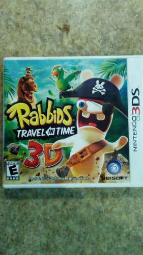 Juego de nintendo 3ds rabbids travel in time 3d