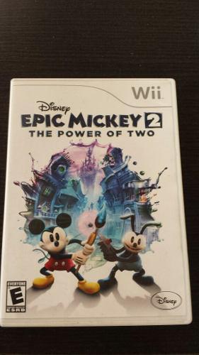 Juego epic mickey 2 para wii usado