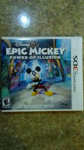 Juego para nintendo 3ds epic mickey power of illusion..
