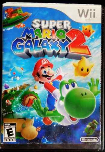 Juego wii mario galaxi 2 original. de los mejores juegos wii