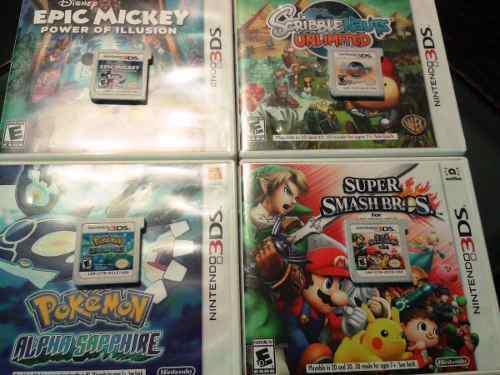 Juegos originales nintendo 3ds