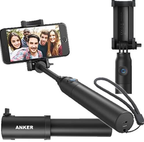 Monopod anker con bluetooth mono pod recargable selfie