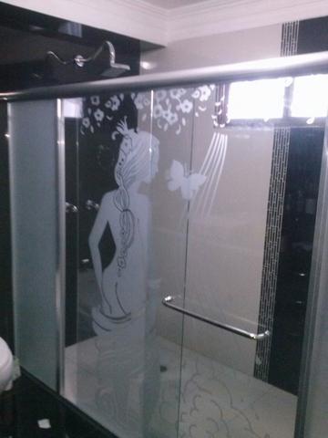Puertas de ba o corredizas en vidrio templado en maracaibo - Puerta corrediza para bano ...