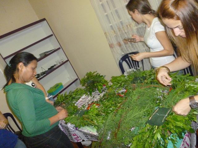 Seminario de floristeria nivel basico