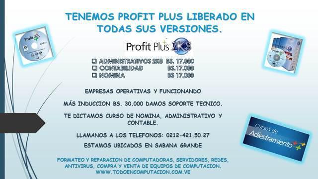 Ven y aprende con nosotros profit plus