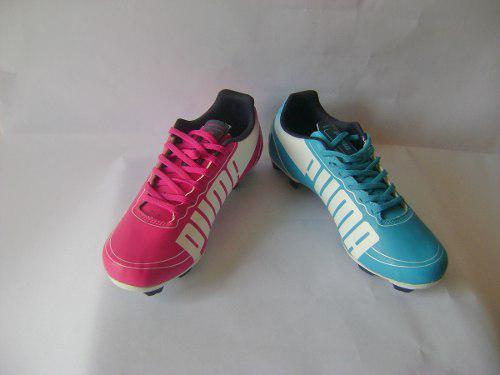 Zapatos tacos fútbol puma originales nuevos en su caja