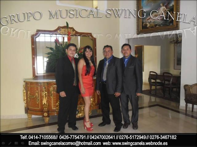 Grupo musical swing canela y trio sensacion de sc