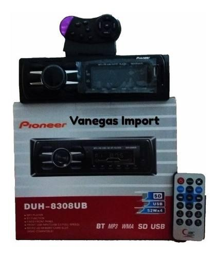 Reproductor de carro usb bluetooth auxiliar pioneer duh830