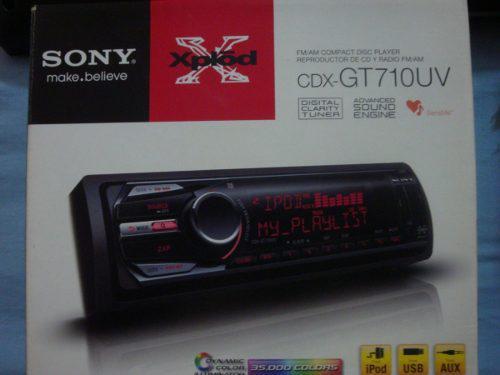 Reproductor sony xplot cd usb mp3 radio