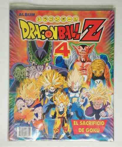 Lbum dragon ball z4 de colección navarete falta 1