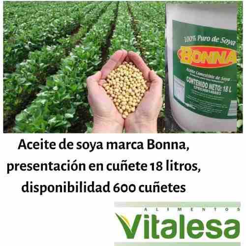 Aceite Comestible De Soya