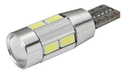 Bombillo muelita t10 led canbus con lupa modelo nuevo