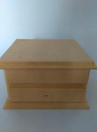 Cofres /cajas de madera mdf decoración,para bisutería