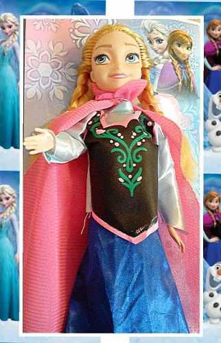 Frozen muñeca ana princesa disney de 30 cm