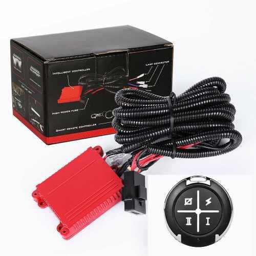 Kit instalacion cableado barra led estrobo / control remoto