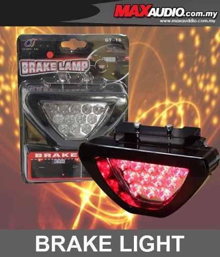 Luz de freno led tercer stop tipo f1 original, mejor calida