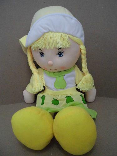 Muñeca De Trapo Suave Grande Niñas 95 Cm Juguete Bebes