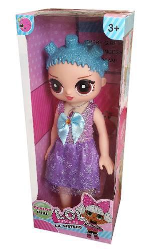 Muñeca lol surprise canta 35 cm con luces juguete niña