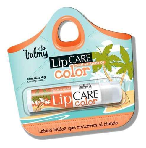 Protector labial lip care color valmy labios bellos