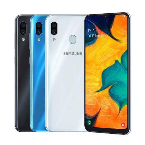 Samsung a30 3/32 220dls + sd 32gb