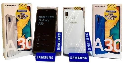 Samsung galaxy a30 32gb (230) vdrs somos tienda fisica