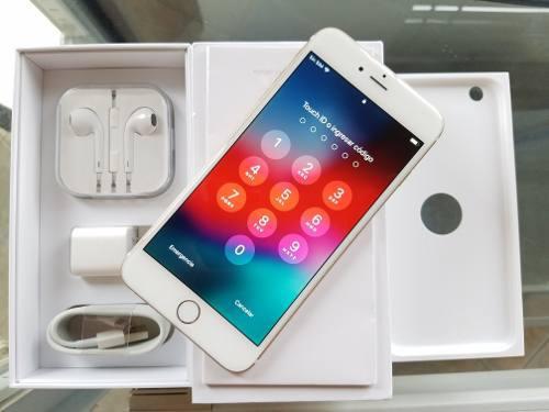 Iphone 6 plus 64gb gold liberado impecable con garantía