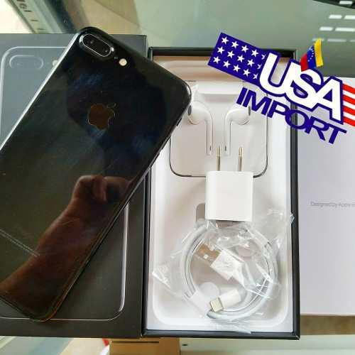 Iphone 7 plus 128gb jet black y 32gb rose liberados