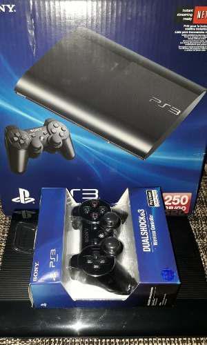 Consola playstation 3 ps3 super slim 250gb ver descripcion!!