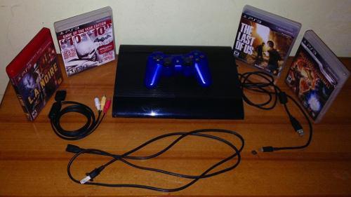Playstation 3 500 gb negro