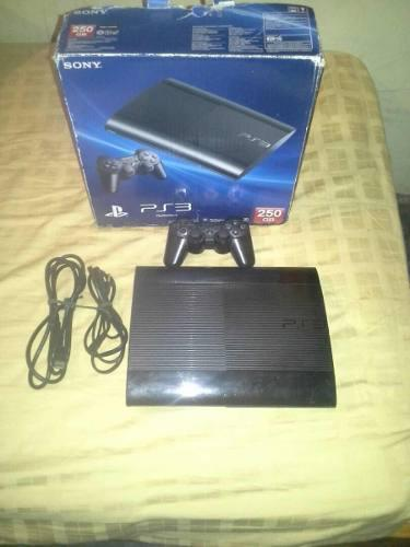 Playstation 3 slim 250gb + 1 control