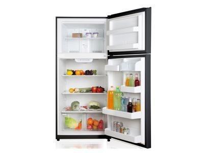 Refrigerador frigidaire y congelador superior tienda física
