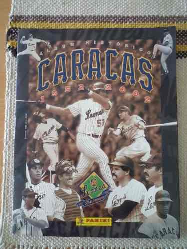 Album historico caracas 1952-2002 de panini
