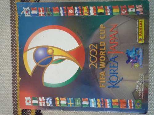 Album mundial de futbol korea/japon 2002 totalmente lleno