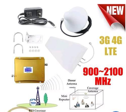 Amplificador d señal dual banda 900/2100mhz digitel