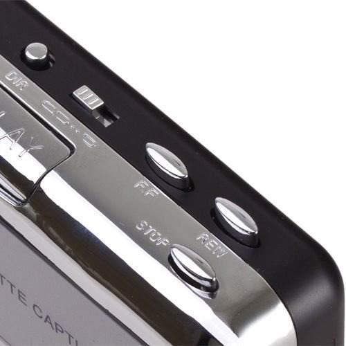 Audio video convertidor usb cassette mp3 portable amz
