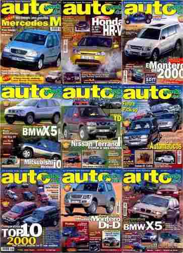 Colección revistas autoverde 4x4 27 revistas